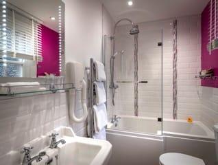 Springwells Orchid bathroom